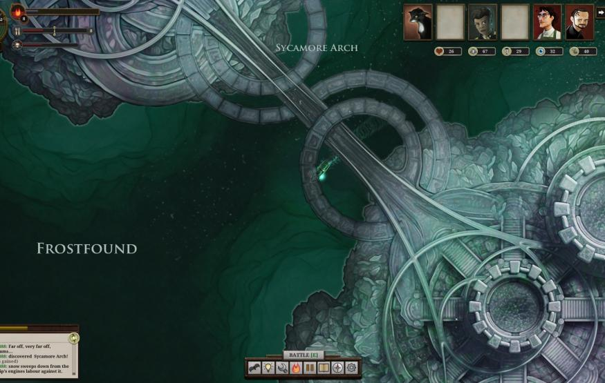 Australian Review: Sunless Sea – Giant crabs and cannibals