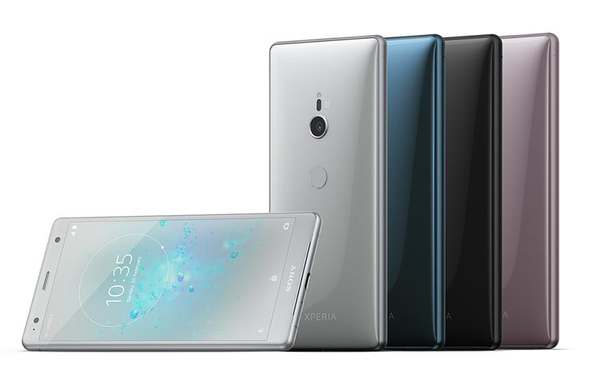 Sony's new flagship phones come with an updated design