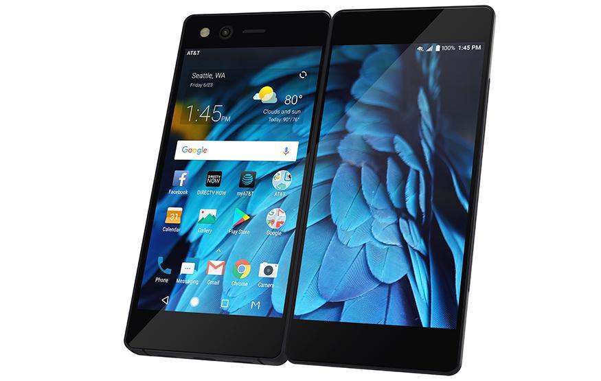 ZTE is releasing a dual-screen smartphone