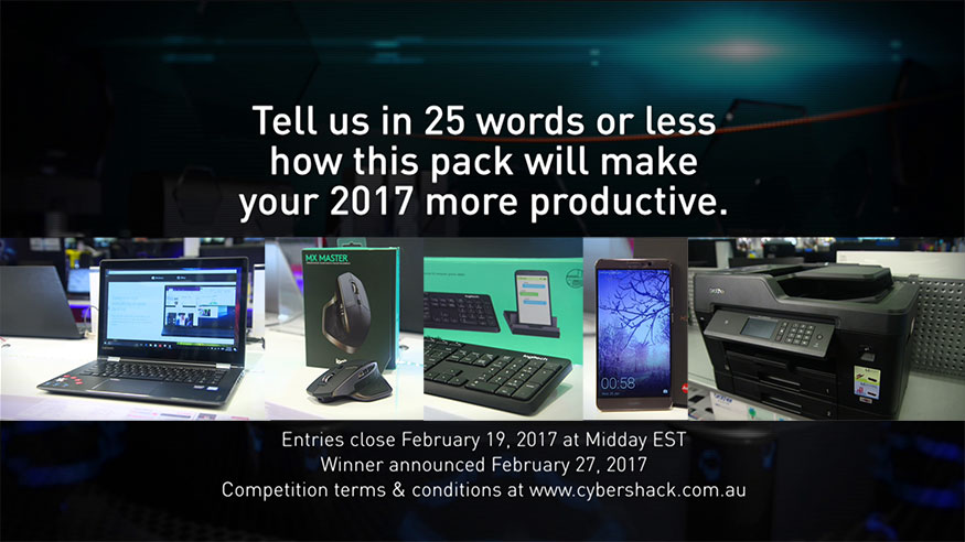 CyberShack TV: Win the best desktop products of 2017!