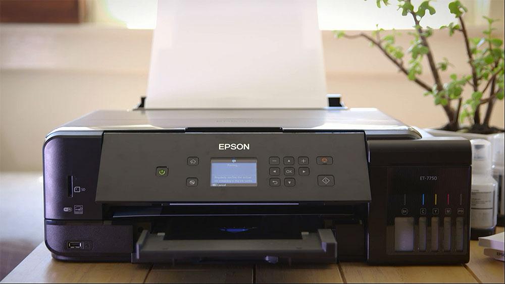 CyberShack TV: Epson Expression Premium ET-7750 Printer