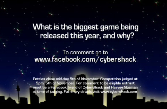 CyberShack and Harvey Norman Facebook Competition
