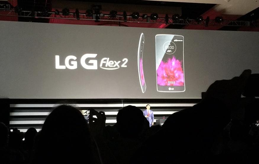 CES 2015: LG G Flex 2 is a phone that's actually meant to bend