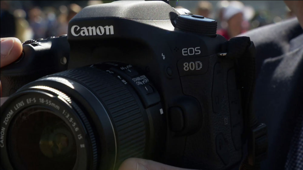CyberShack TV: A look at Canon's EOS 80D