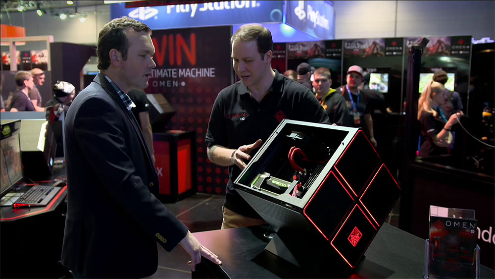 CyberShack TV: A look at the HP Gaming Omen Desktop