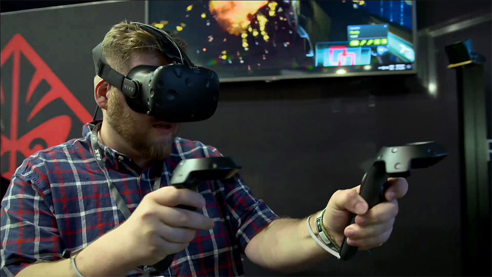CyberShack TV: A look at HTC Vive