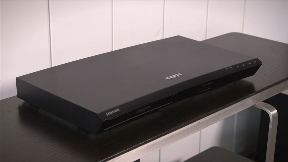 CyberShack TV: A look at Samsung's 4K Blu-Ray Player