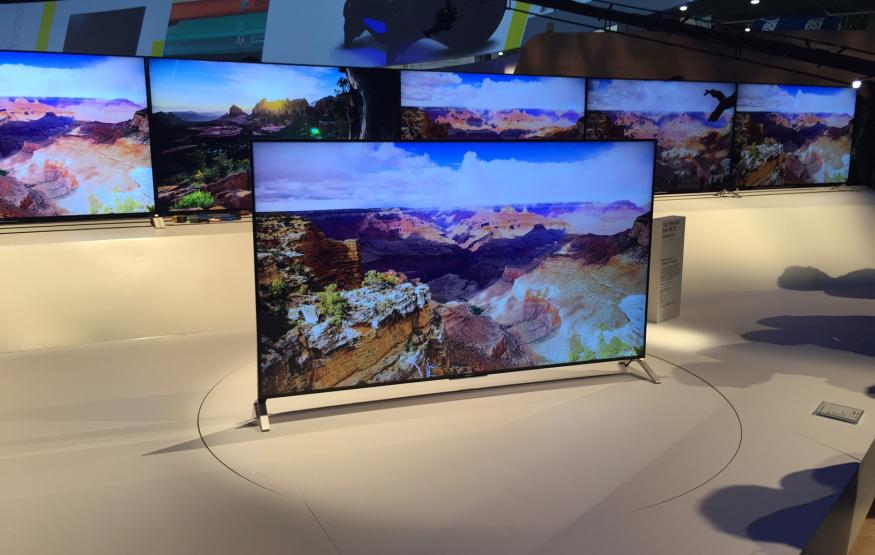 CES 2015: Sony's new TV is thinner than your smartphone