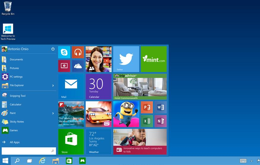 Windows 10 revisits Microsoft's vision for the future of personal com...