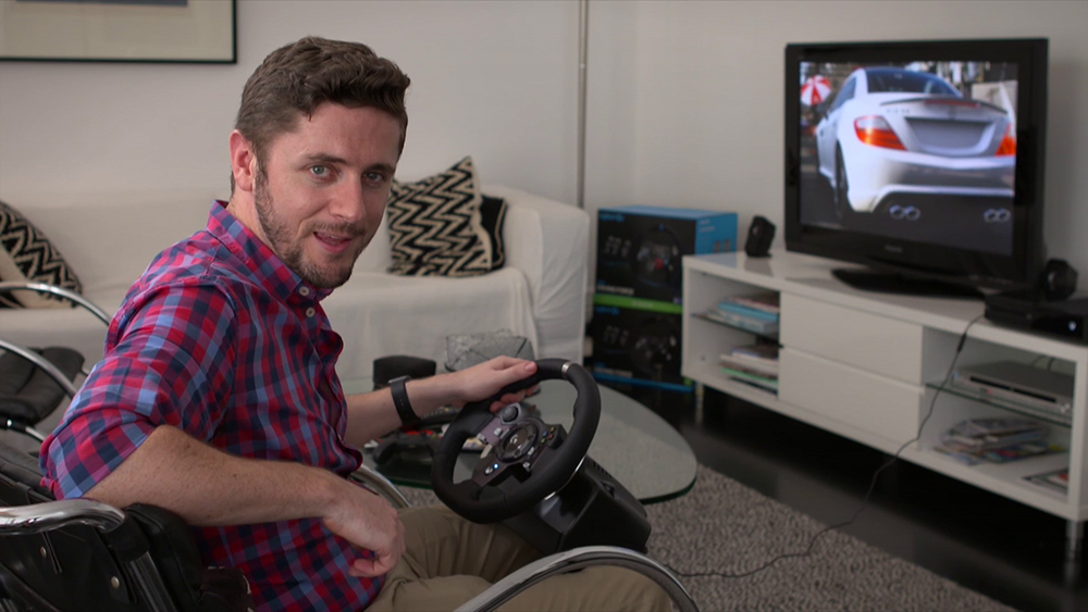 CyberShack TV: A look at Logitech's G920 Racing Wheel for Xbox One an...