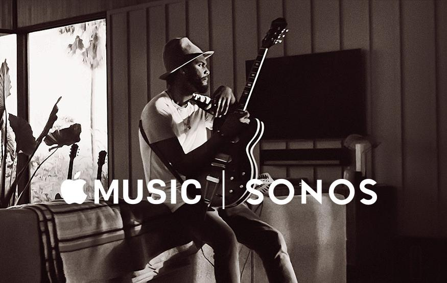 Apple Music now available through Sonos