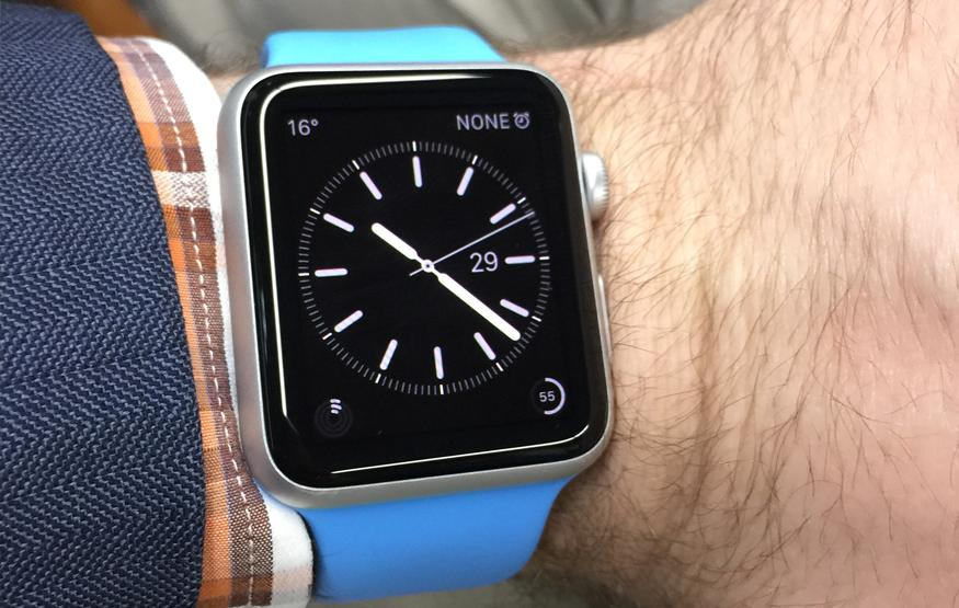First software update for Apple Watch now available