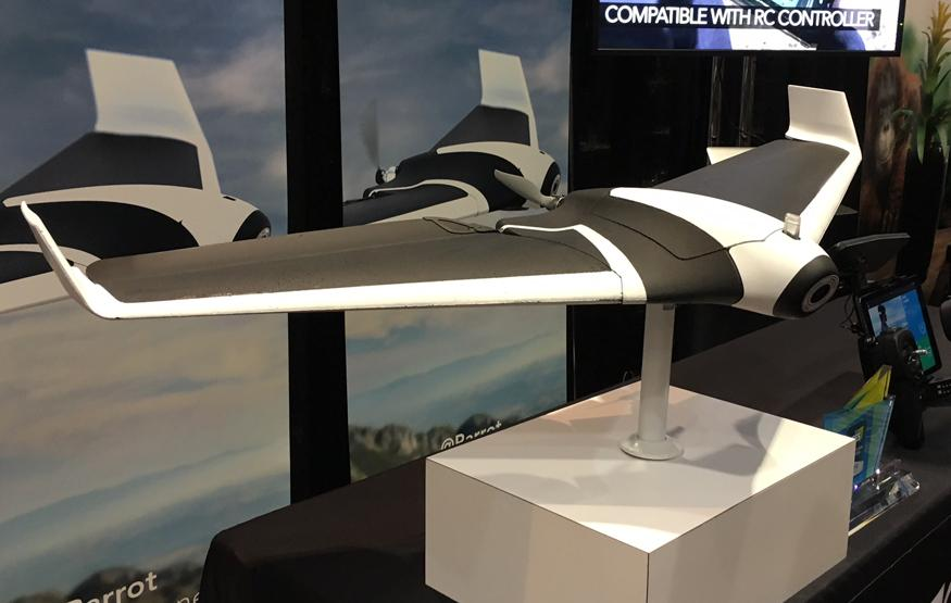 CES 2016: Parrot Disco is a massive drone that flies at 80 km per hour