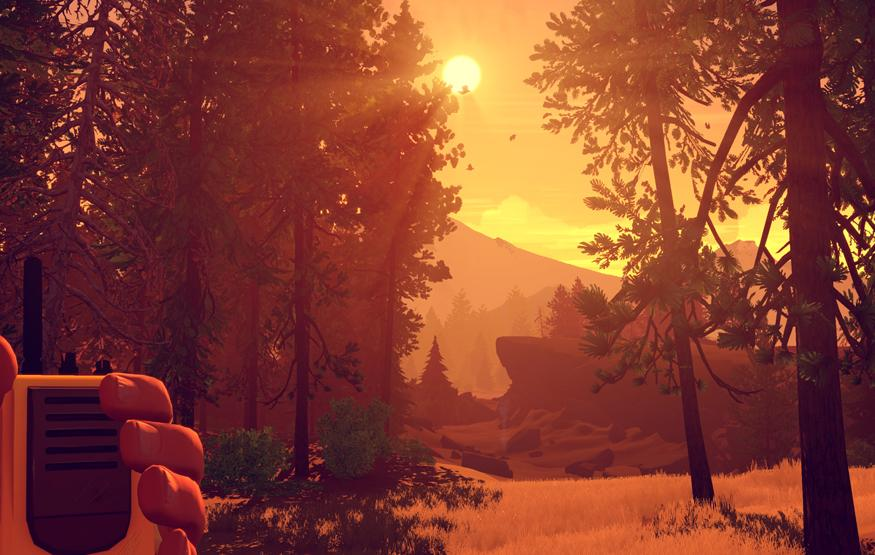 Firewatch is gaming grown up