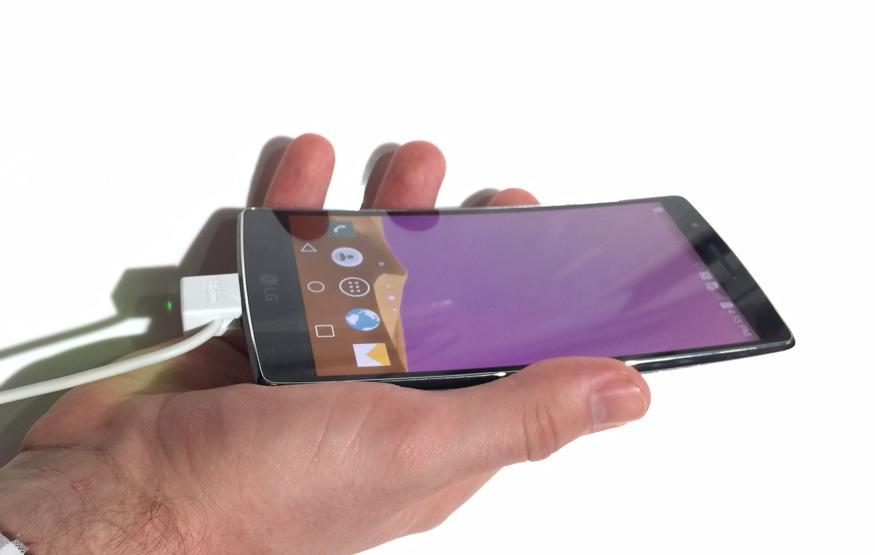 CES 2015 Hands On: LG G Flex 2