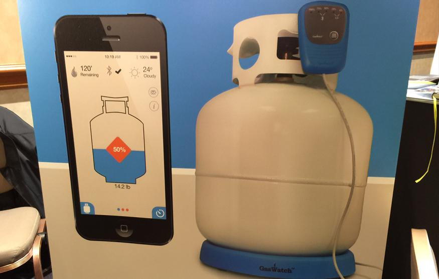 CES 2015: GasWatch keeps an eye on the BBQ tank