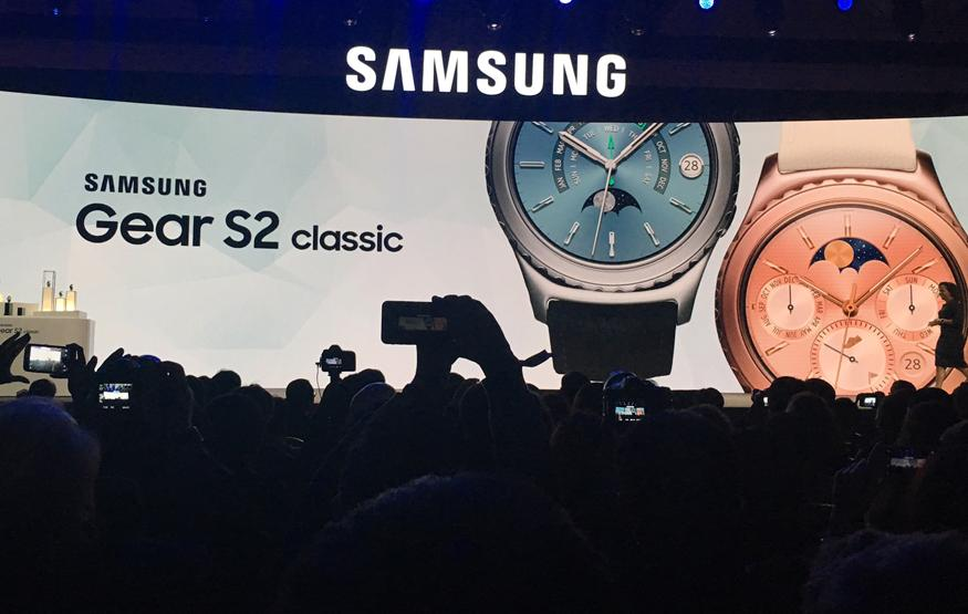 CES 2016: Samsung adding premium Gear S2 options, iPhone compatibility