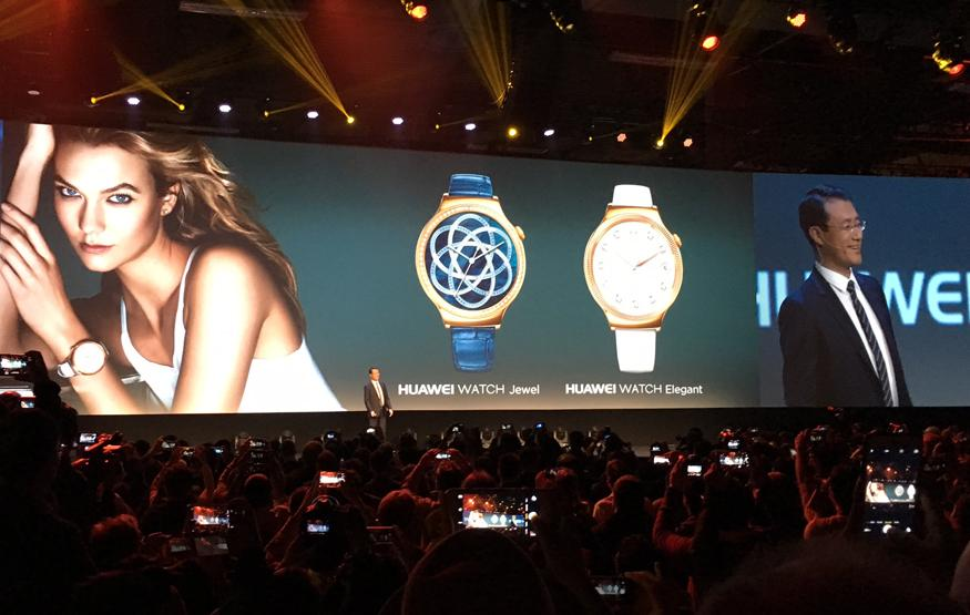 CES 2016: Huawei introduces a pair of blinged out smartwatches