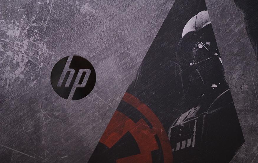 That's no moon: Hands on with HP's Star Wars notebook