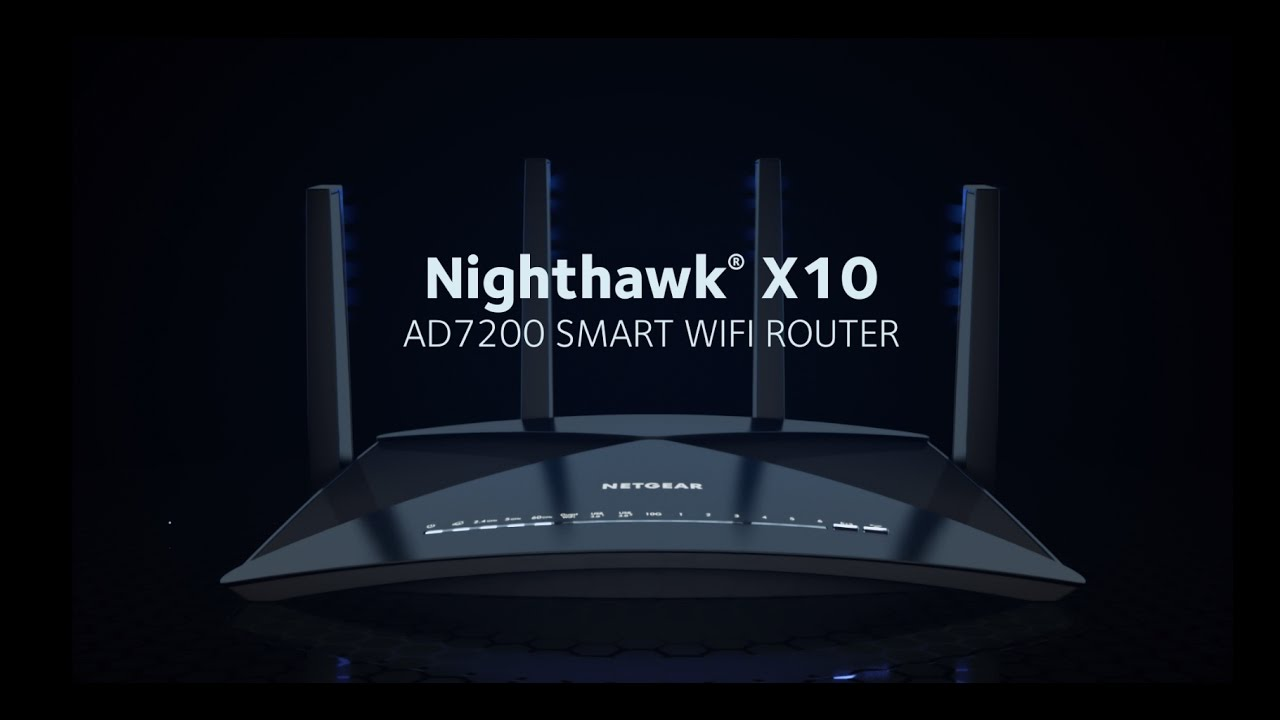 The future of networking is now, Nighthawk X10 by Netgear