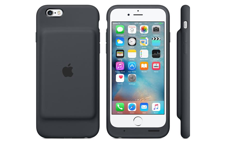 iHumps: Apple unveils official battery case for iPhone 6s