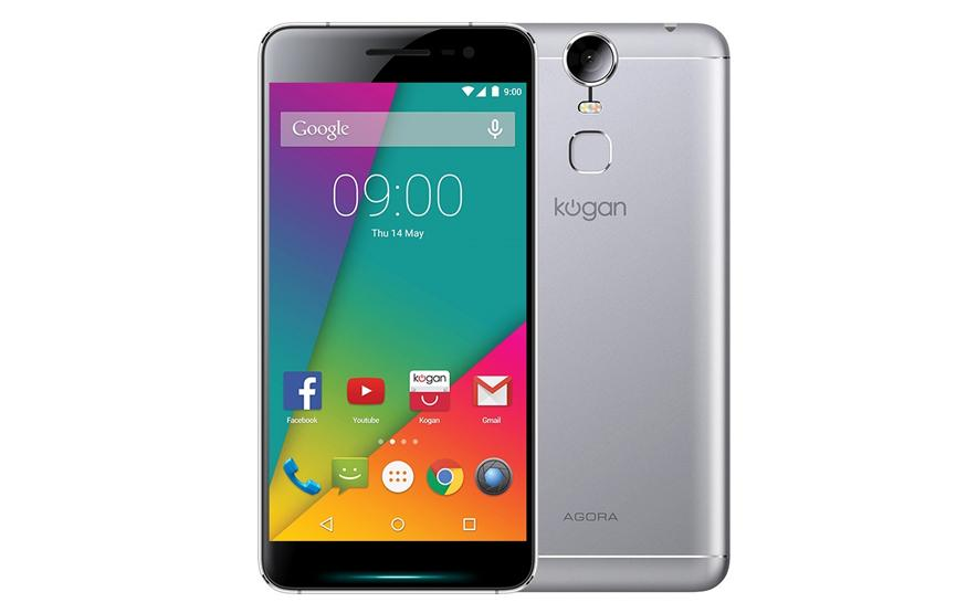 "Kogan's first ""flagship"" is a low price midrange smartpho..."