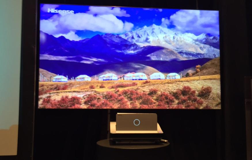 CES 2015: Hisense's latest TV is laser-powered