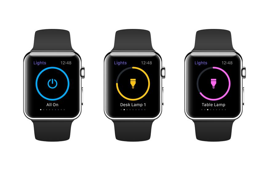 Smartbulb manufacturer LIFX now has an Apple Watch app