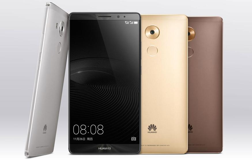 Huawei's Mate 8 is a 6-inch phablet with a massive battery