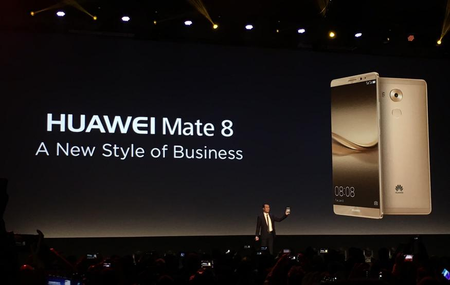 CES 2016: Huawei Mate 8 boasts a big screen and big battery, Australia-boun...