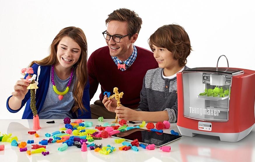 Mattel's 3D printer lets kids build their own toys