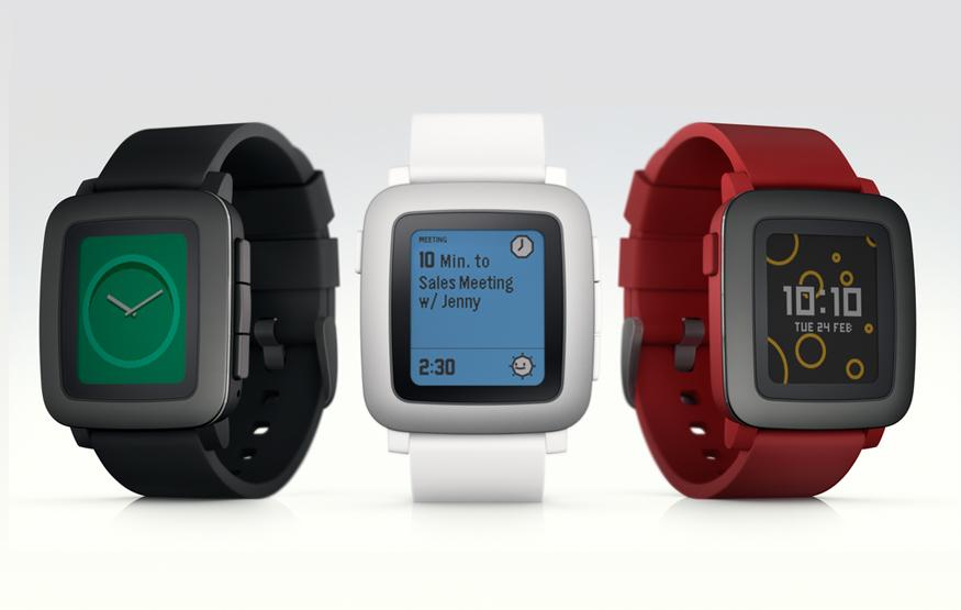 Pebble announces new smartwatch, smashes funding goal on Kickstarter