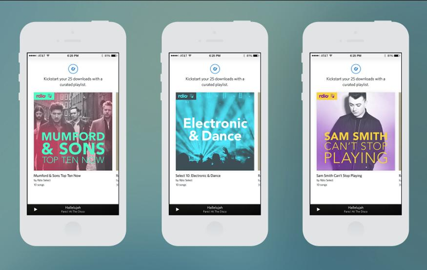 Rdio launches half-price streaming service to fight Spotify and Apple