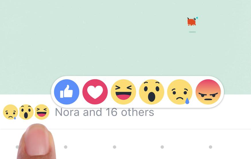 "Facebook kinda adds a dislike button with ""reactions"""