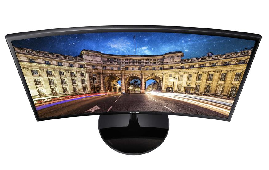 Samsung keeps it wavy with new curved monitor range