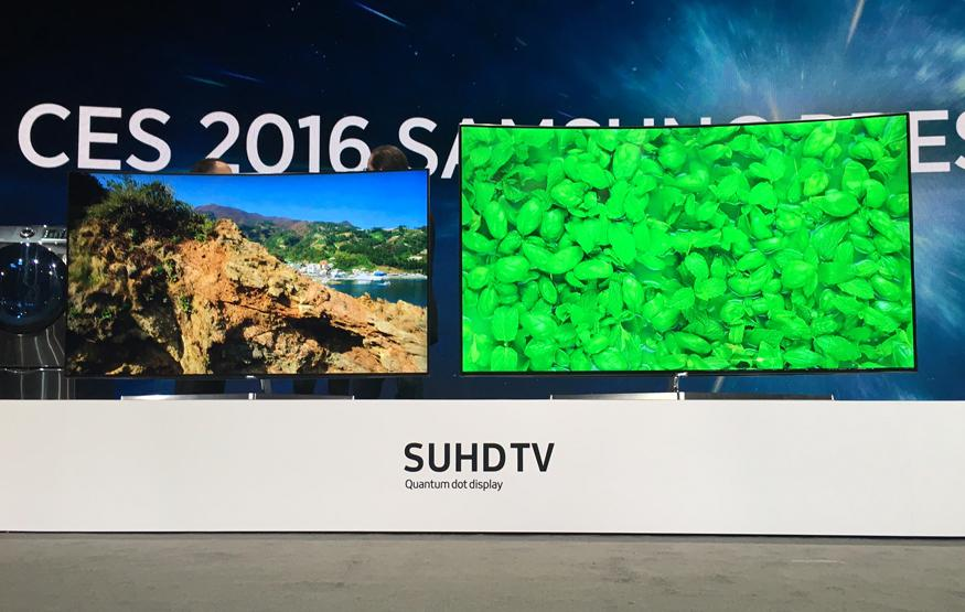 CES 2016: Samsung throws shade at OLED with 2016 SUHD line-up
