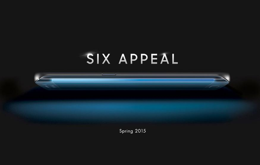 This is the Samsung Galaxy S6 …well, its side