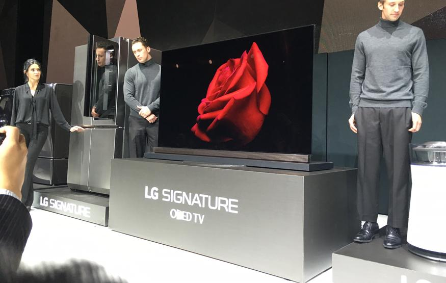 CES 2016: LG Signature OLED TV is just 2.57mm thick
