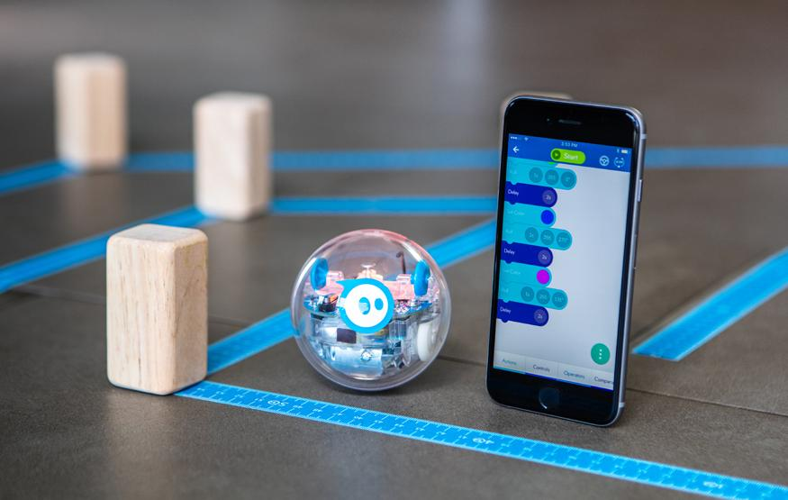 Sphero: The rolling robot that's teaching autistic students coding, n...