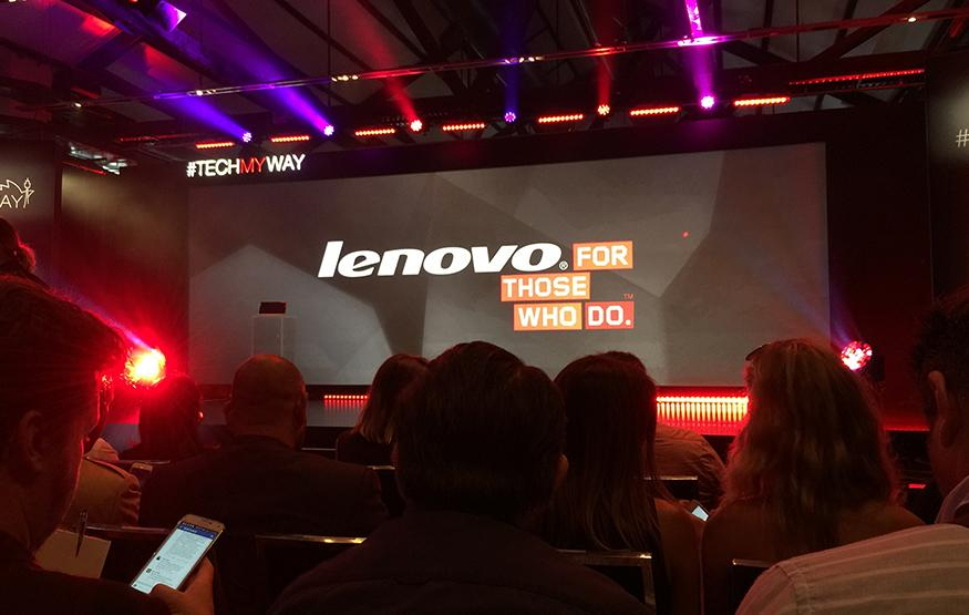 Ashton Kutcher upstaged at Lenovo's Tech My Way