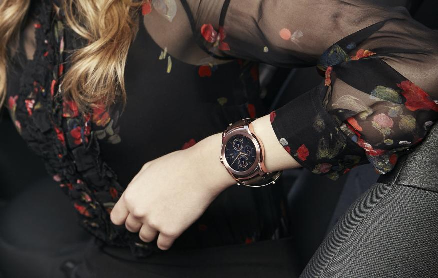 LG's third smartwatch is a luxury take on Android Wear