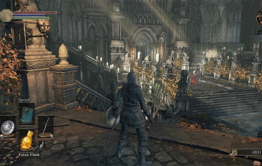 A trial by fire: Hands on with Dark Souls III