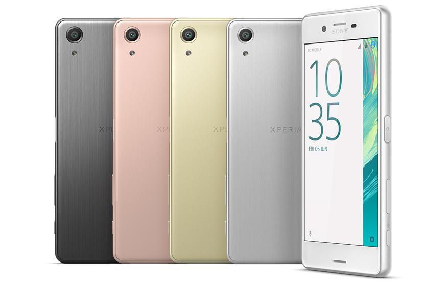 Sony unveils trio of smartphones, including a brand new flagship