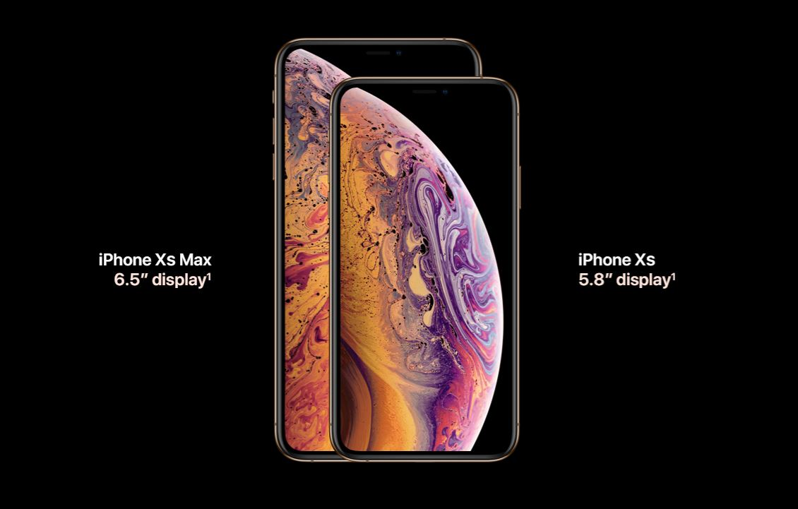 iPhone Xs and iPhone Xs Max bring the best and biggest displays to iPhone