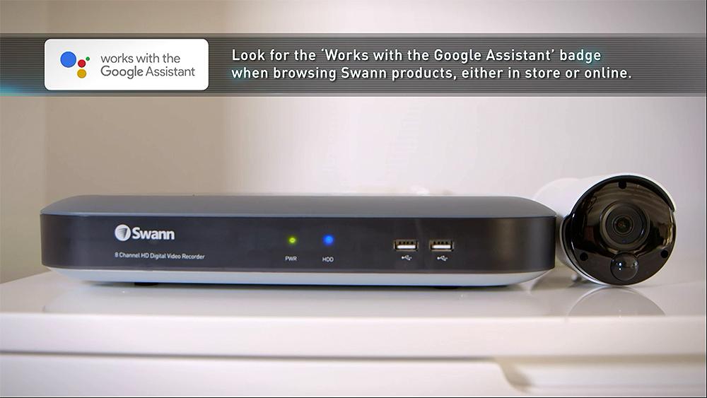 CyberShack TV Season 24: Ep10 – Swann with Google Integration