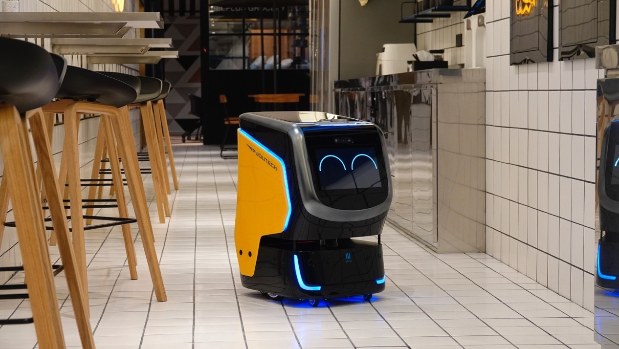 Holabot is an automated hotel delivery robot