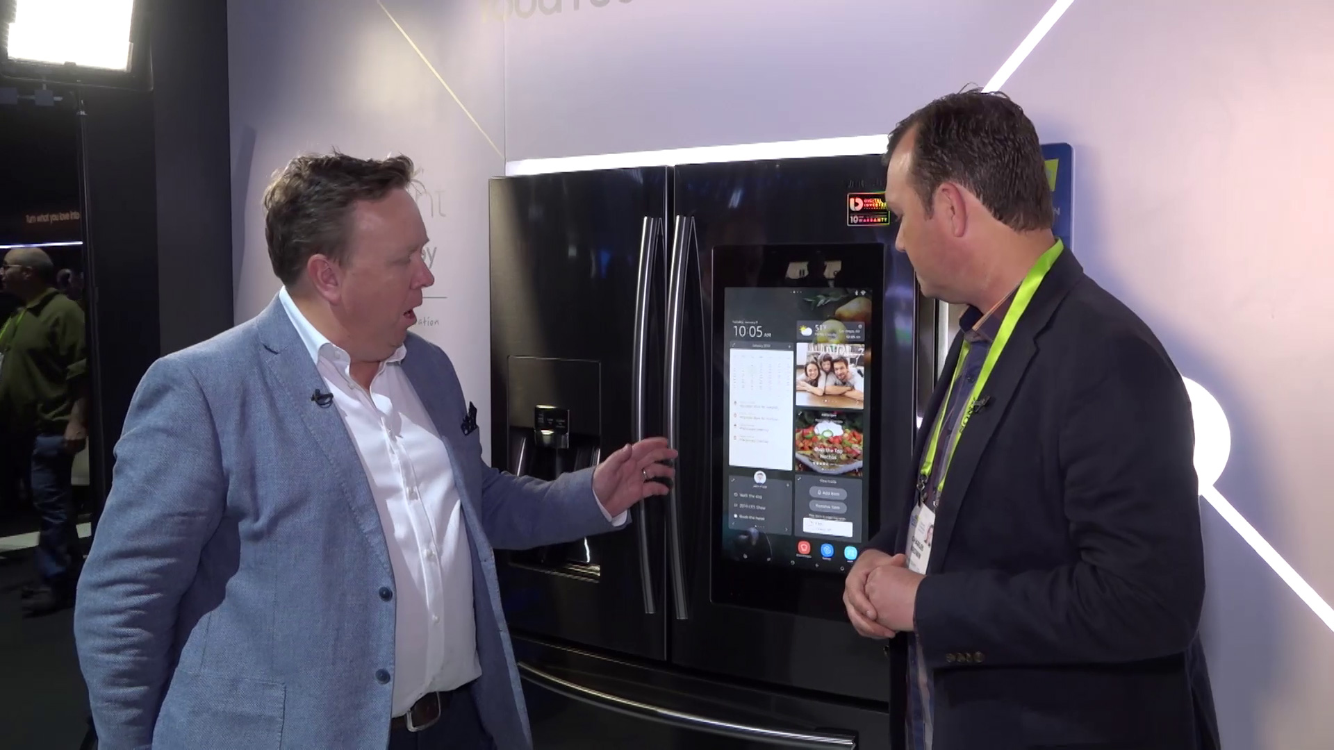 CES 2019: Samsung Connected Home Kitchen