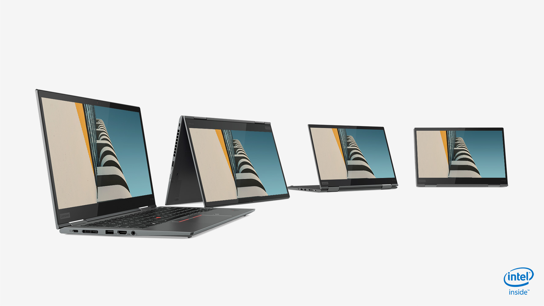 Lenovo's new laptops are thinner and lighter than ever