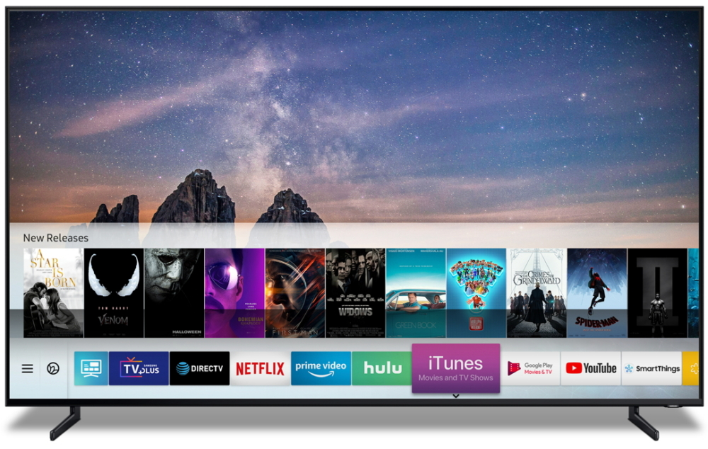Apple bringing iTunes and AirPlay 2 to Samsung Smart TVs