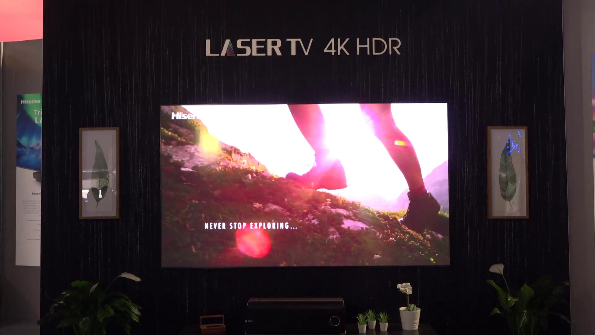 CES 2019: Hisense TV's